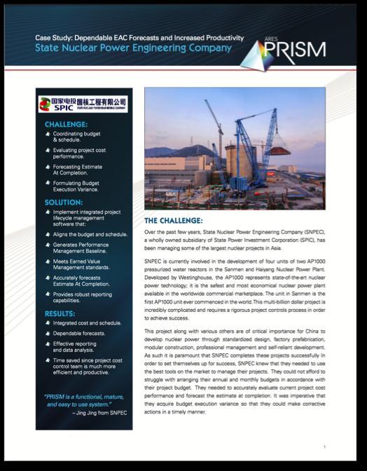 Project Management & Project Controls  Case Study
